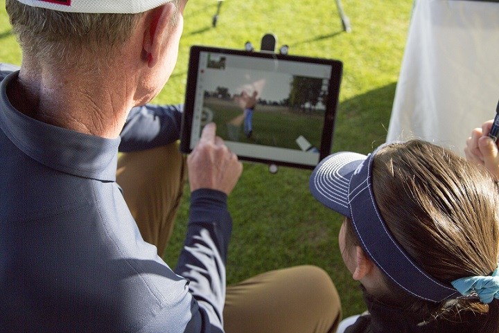 SScott Sackett Golf Instruction using V1 Golf
