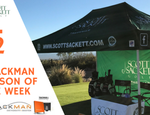 TrackMan Lesson of the Week 12/12/17